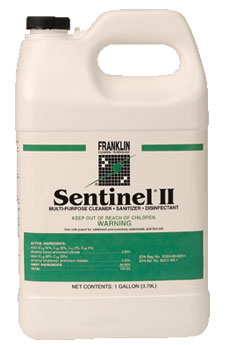 Sentinel Ii Disinfectant Franklin Cleaning Equipment And